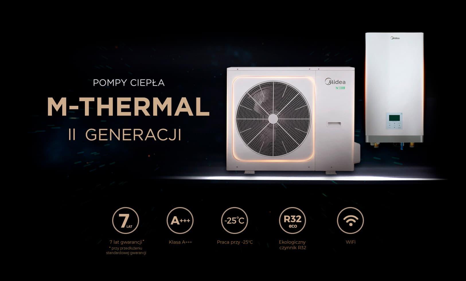 Pompa ciepła Midea-M-Thermal